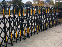 These pedestrian barricades are one of our most versatile brands, because they come in heights ranging from 40 inches to 6 ft.